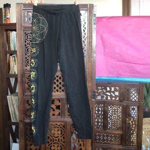 American Apparel brand Yoga leggings
